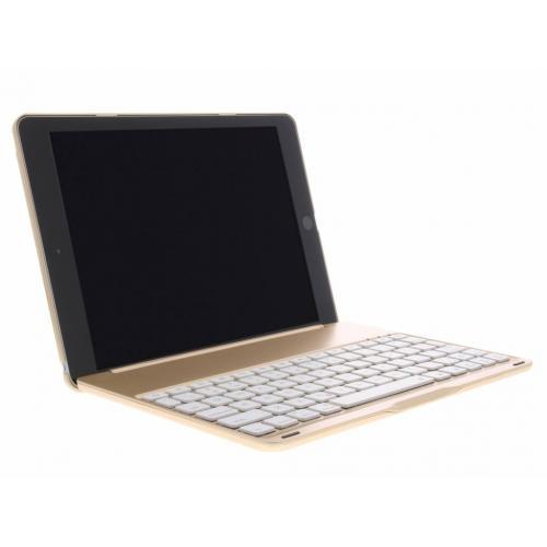 Bluetooth Keyboard Bookcase voor iPad (2017) / (2018) / Air - Rosé Goud