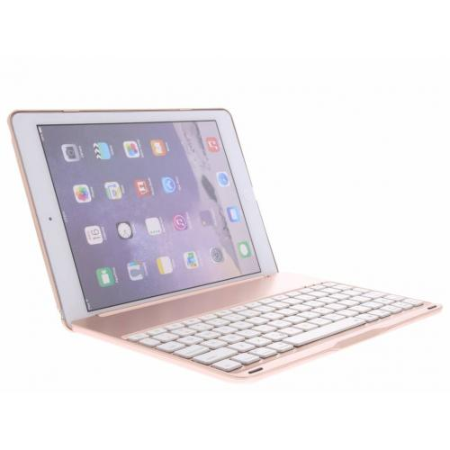 Bluetooth Keyboard Hardcase voor iPad Air 2 / iPad Pro 9.7 - Rosé Goud