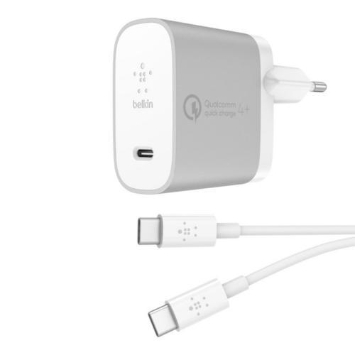 Boost↑Charge™ Thuislader + USB-C naar USB-C kabel - 1,2 meter