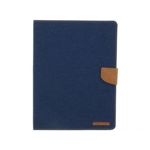 Canvas Diary Booktype voor iPad 2 / 3 / 4 - Donkerblauw
