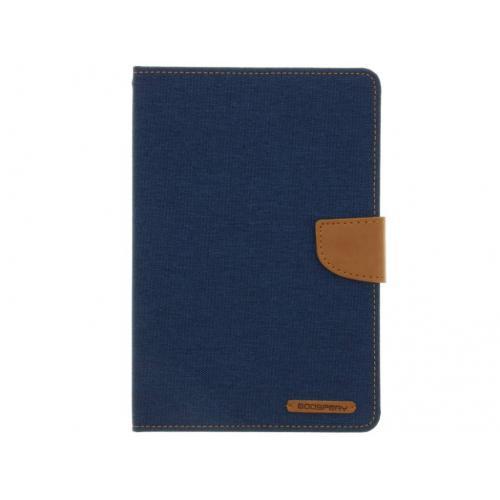 Canvas Diary Booktype voor iPad Mini / 2 / 3 - Blauw