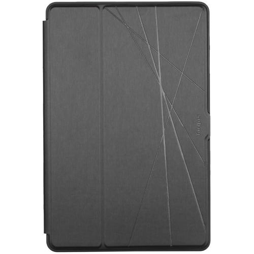 Click-in Bookcase voor de Samsung Galaxy Tab S7 Plus - Zwart