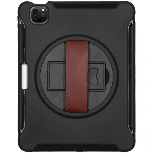 Defender Backcover met strap voor de iPad Air (2020) - Zwart