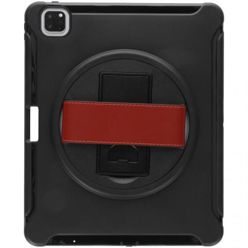 Defender Backcover met strap voor de iPad Pro 12.9 (2020) - Zwart