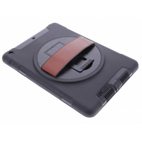 Defender Backcover met strap voor iPad Air - Zwart