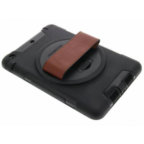 Defender Backcover met strap voor iPad Mini / 2 / 3 - Zwart