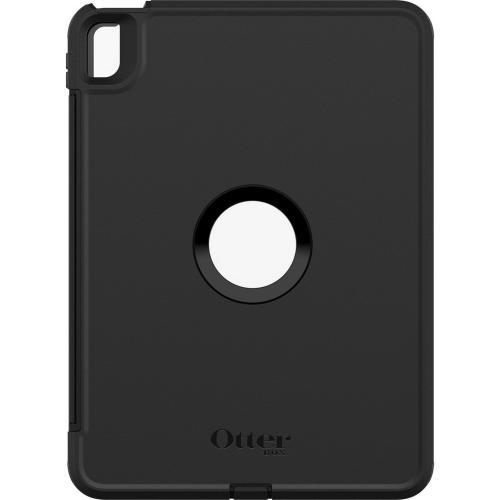 Defender Rugged Backcover voor de iPad Air (2020) - Zwart