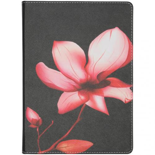 Design Bookcase voor de iPad 10.2 - Bloemen