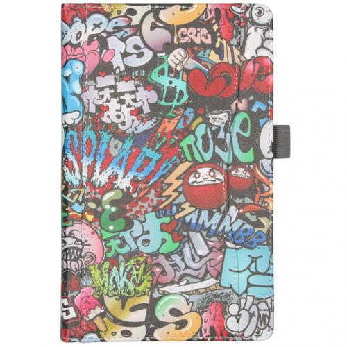 Design Bookcase voor de Samsung Galaxy Tab A 10.1 (2019) - Graffiti