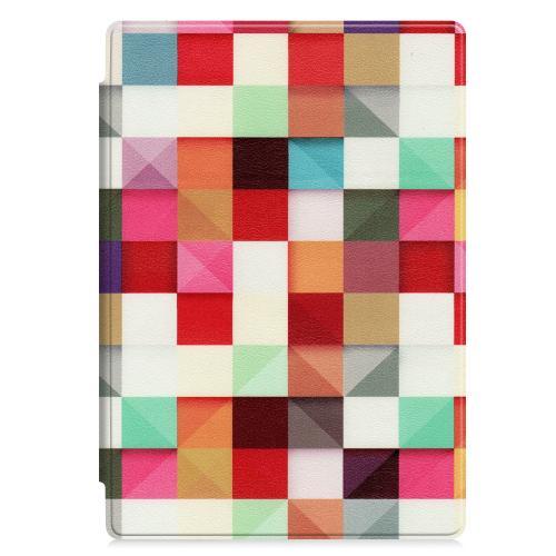 Design Hardcase Bookcase Microsoft Surface Pro 7 / 6 / 4 Pro (2017) - Kleurtjes