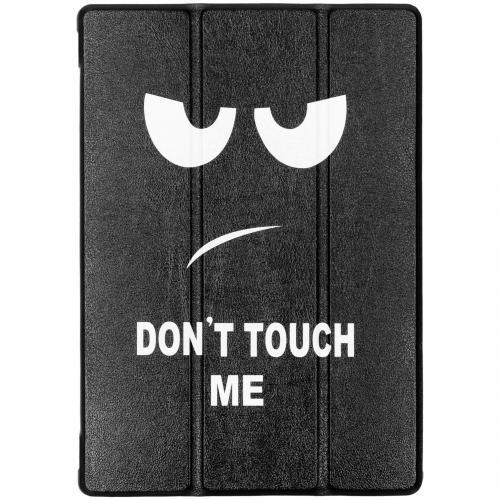Design Hardcase Bookcase voor de Lenovo Tab M10 - Don't touch