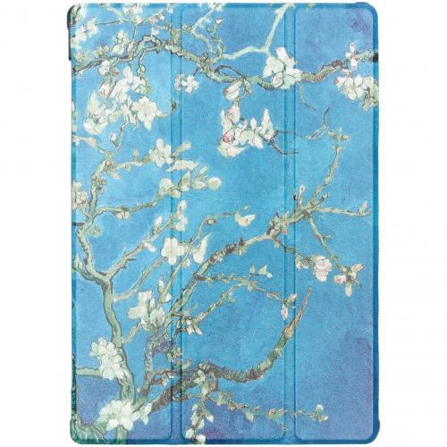 Design Hardcase Bookcase voor de Lenovo Tab M10 - Groene Plant