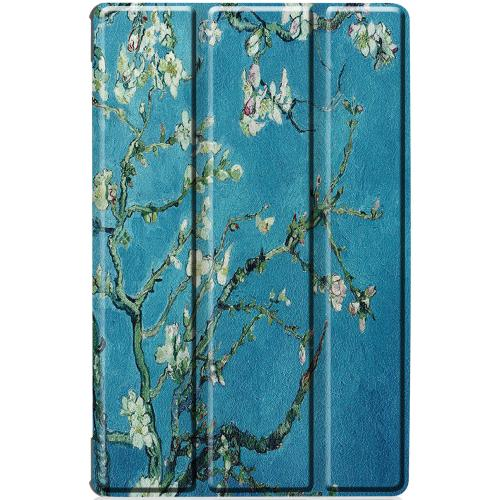 Design Hardcase Bookcase voor de Lenovo Tab M10 Plus - Groene Plant