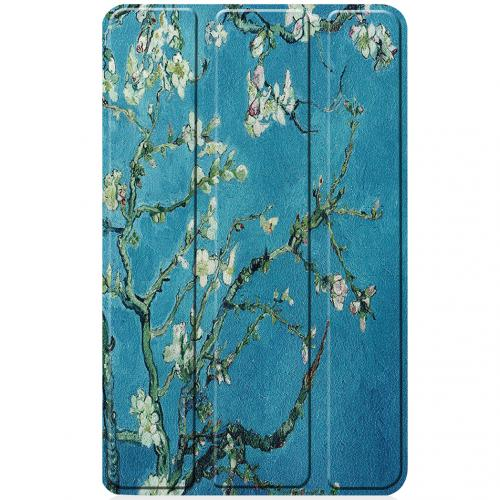 Design Hardcase Bookcase voor de Lenovo Tab M7 - Groene Plant