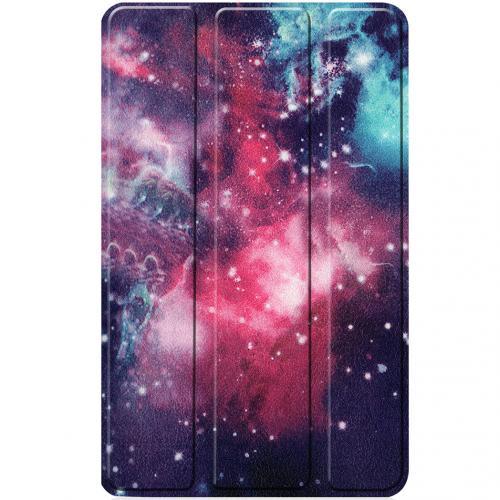 Design Hardcase Bookcase voor de Lenovo Tab M7 - Into Space