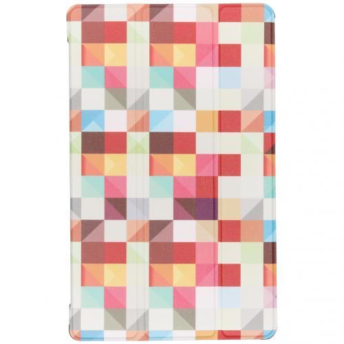 Design Hardcase Bookcase voor de Samsung Galaxy Tab A 10.1 (2019) - Kleurtjes