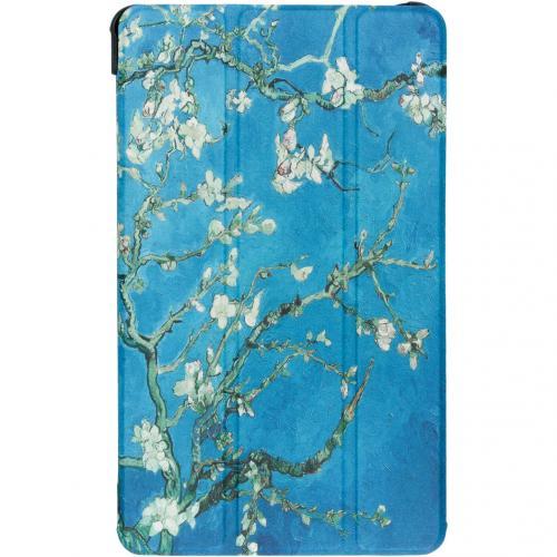 Design Hardcase Bookcase voor de Samsung Galaxy Tab A 8.0 (2019) - Groene Plant