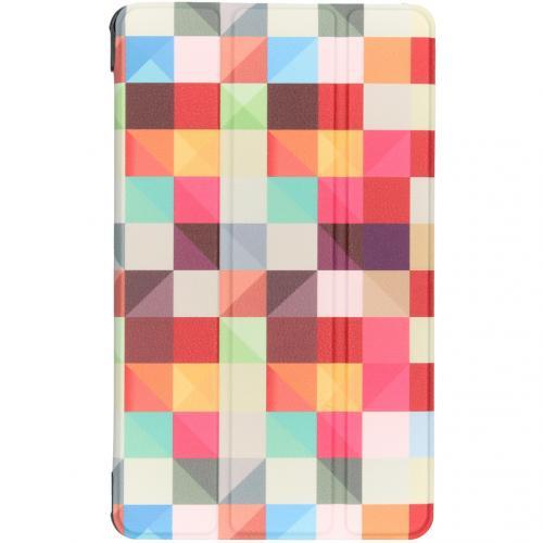 Design Hardcase Bookcase voor de Samsung Galaxy Tab A 8.0 (2019) - Kleurtjes