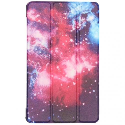 Design Hardcase Bookcase voor de Samsung Galaxy Tab A 8.0 (2019) - Space Design