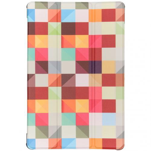 Design Hardcase Bookcase voor de Samsung Galaxy Tab S5e - Kleurtjes