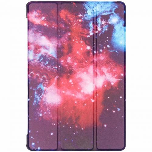 Design Hardcase Bookcase voor de Samsung Galaxy Tab S5e - Space