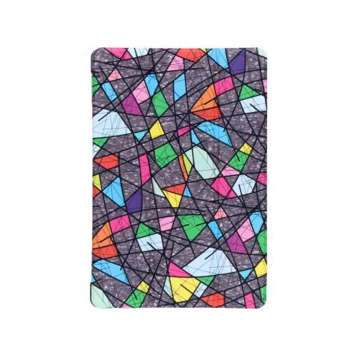Design Hardcase Bookcase voor Huawei MediaPad M5 Lite 10.1 inch - Grafische kleuren