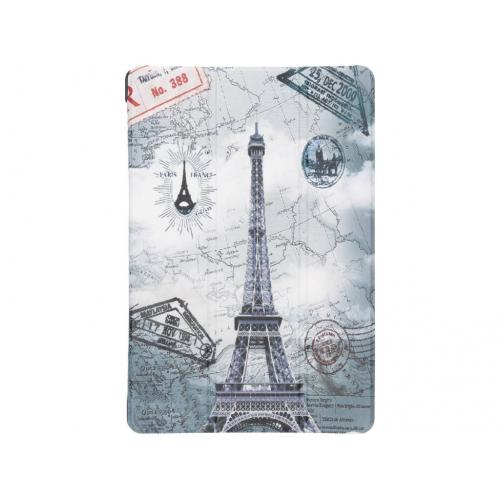 Design Hardcase Bookcase voor Huawei MediaPad M5 Lite 10.1 inch - Parijs