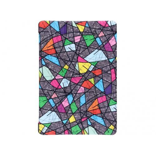 Design Hardcase Bookcase voor Huawei MediaPad T5 10.1 inch - Grafische kleuren