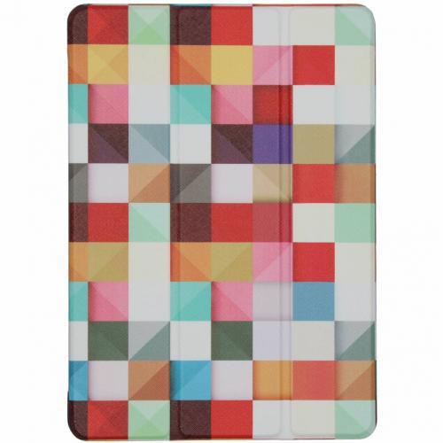 Design Hardcase Bookcase voor iPad (2017) / (2018) - Kleurtjes