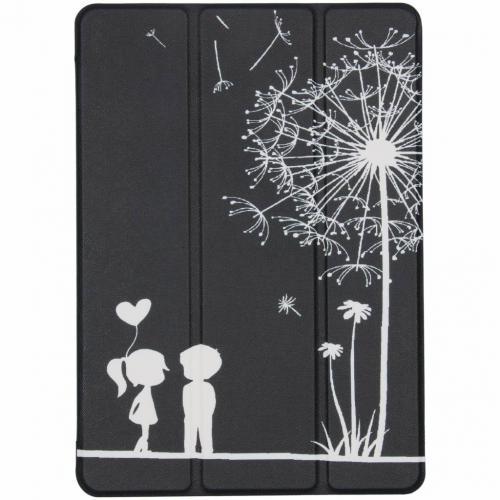 Design Hardcase Bookcase voor iPad (2017) / (2018) - Poppetjes