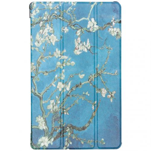 Design Hardcase Bookcase voor Samsung Galaxy Tab A 10.1 (2019) - Groene Plant