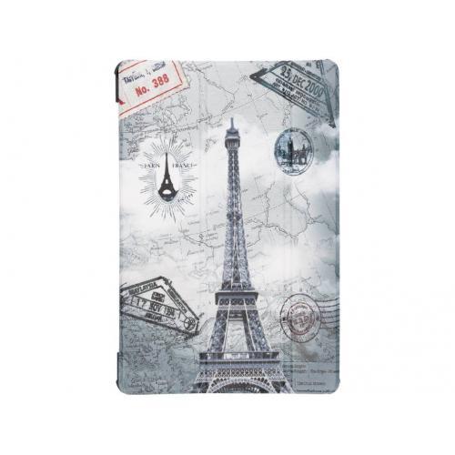 Design Hardcase Bookcase voor Samsung Galaxy Tab S4 10.5 - Parijs
