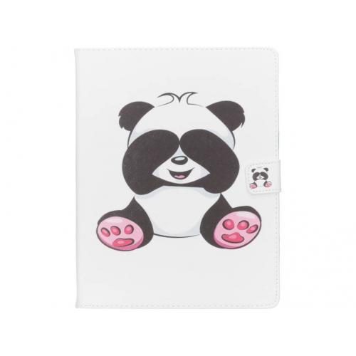 Design Softcase Bookcase voor iPad 2 / 3 / 4 - Panda