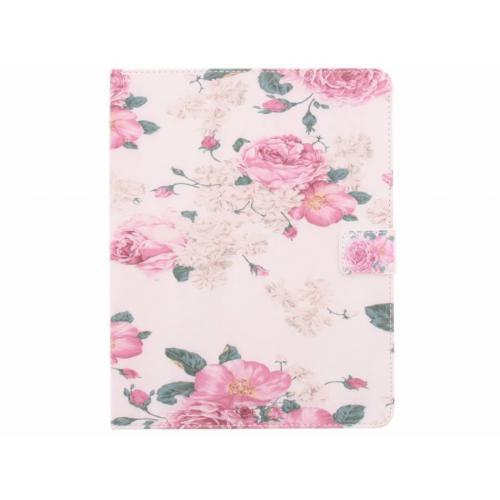 Design Softcase Bookcase voor iPad 2 / 3 / 4 - Rozen