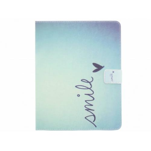 Design Softcase Bookcase voor iPad 2 / 3 / 4 - Smile