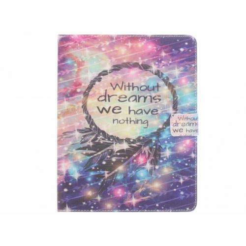 Design Softcase Bookcase voor iPad 2 / 3 / 4 - Without Dreams