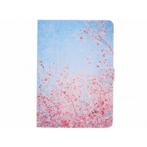 Design Softcase Bookcase voor iPad (2017) / (2018) - Bloesem Roze