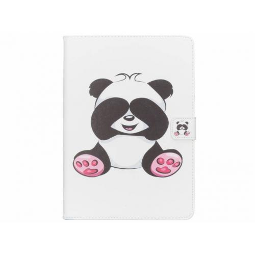 Design Softcase Bookcase voor iPad (2017) / (2018) - Panda