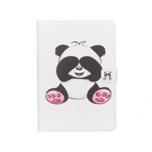 Design Softcase Bookcase voor iPad Air 2 - Panda