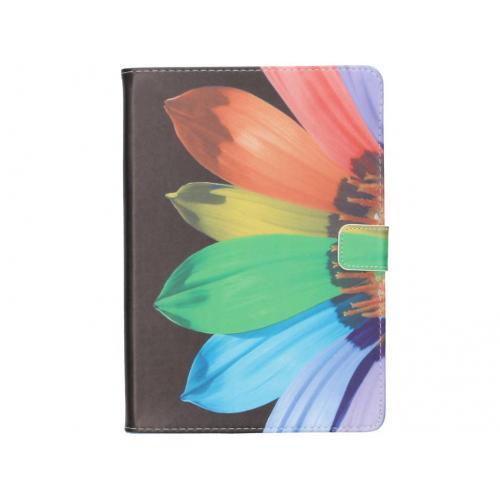 Design Softcase Bookcase voor iPad Air 2 - Zonnebloem Zwart