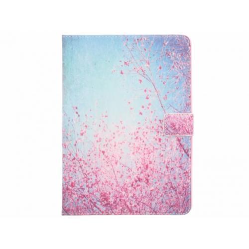 Design Softcase Bookcase voor iPad Air - Bloesem Roze
