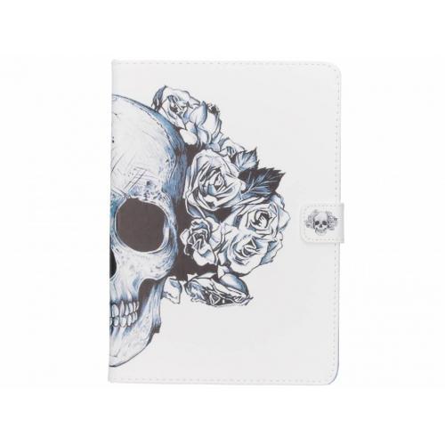 Design Softcase Bookcase voor iPad Air - Doodshoofd