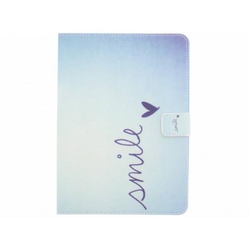 Design Softcase Bookcase voor iPad Air - Smile