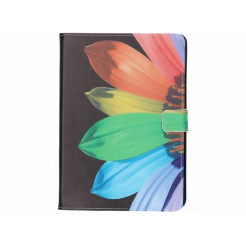Design Softcase Bookcase voor iPad Air - Zonnebloem Zwart