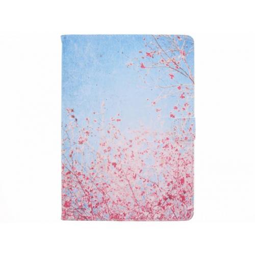 Design Softcase Bookcase voor iPad Pro 10.5 / Air 10.5 - Bloesem Roze