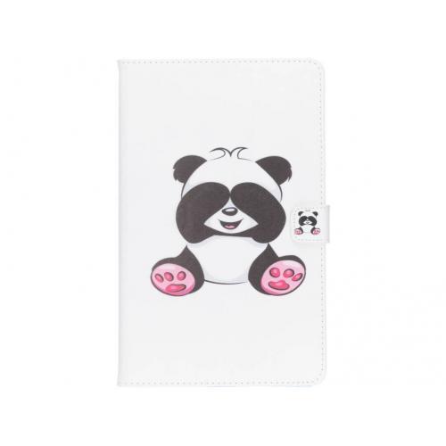 Design Softcase Bookcase voor Samsung Galaxy Tab A 10.5 (2018) - Panda