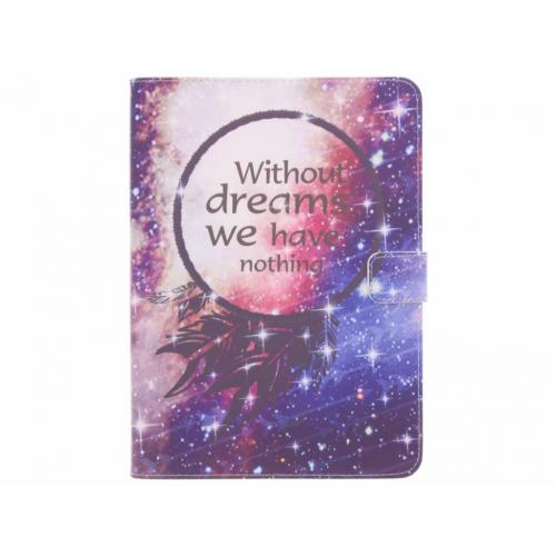 Design Softcase Bookcase voor Samsung Galaxy Tab S3 9.7 - Without Dreams