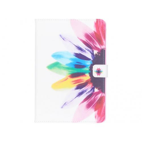 Design Softcase Bookcase voor Samsung Galaxy Tab S4 10.5 - Zonnebloem