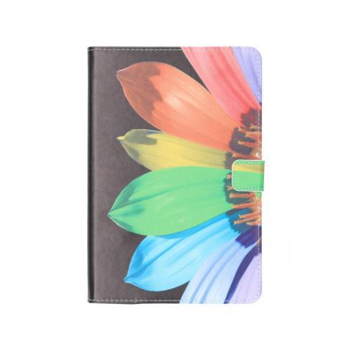 Design Softcase Bookcase voor Samsung Galaxy Tab S4 10.5 - Zonnebloem Zwart