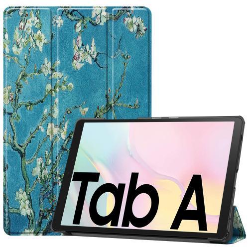 Design Trifold Bookcase Galaxy Tab A7 - Groene Plant